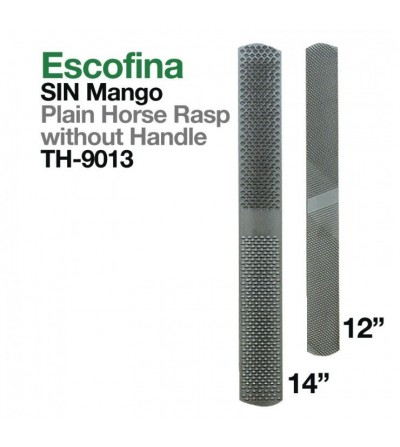 Escofina sin Mango Th-9013-A2 14""