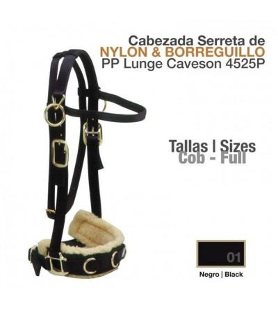 Cabezada Dar Cuerda Nylon/Borreguillo