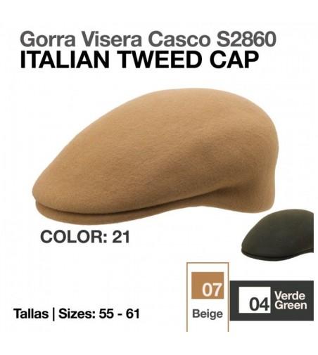 Gorra Inglesa Visera de Paño S.2860