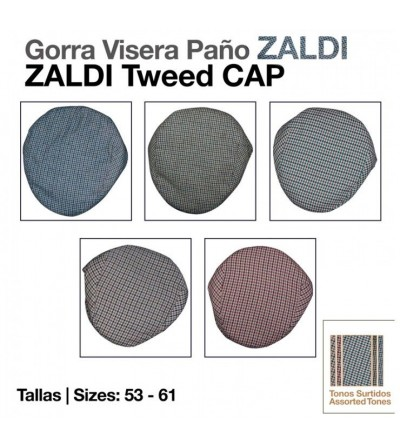 Gorra Visera Paño Zaldi