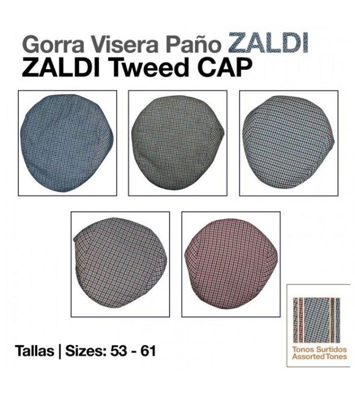 Gorra Visera Paño -Zaldi-