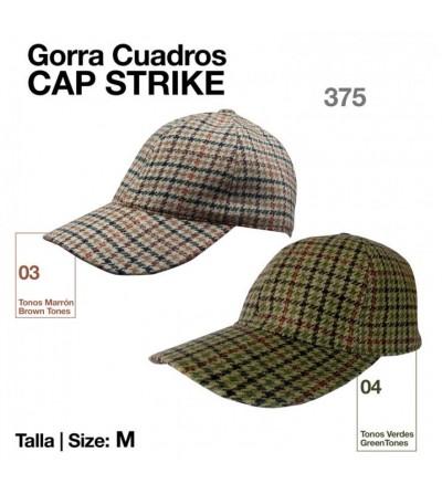 Gorra Cap Strike de Cuadros