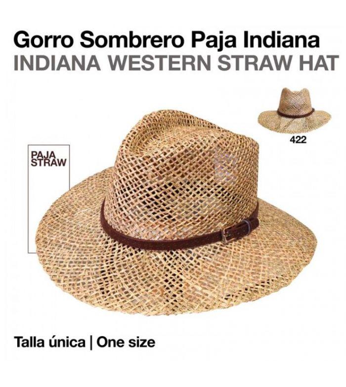 Sombrero Paja Indiana