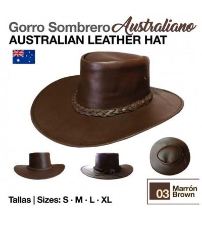 Sombrero Australiano Marrón