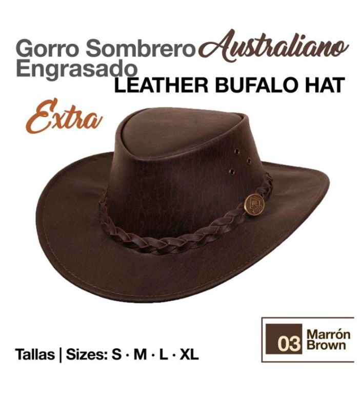 Sombrero Australiano Engrasado Extra