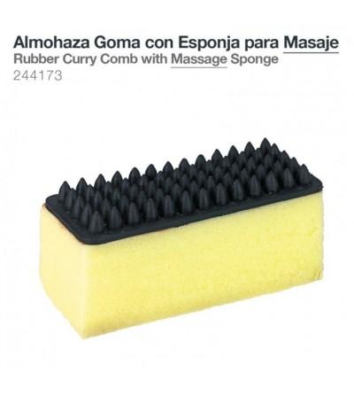 Almohaza de Goma con Esponja