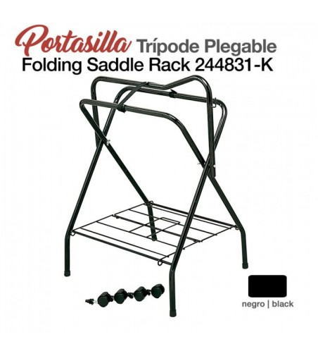Portasilla Tripode Plegable 244831-K