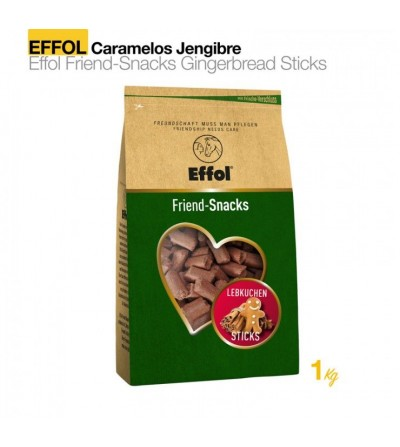 Effol Caramelo Jengibre Sticks 1kg