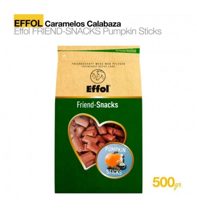 Effol Caramelos Calabaza Sticks 0.5kg