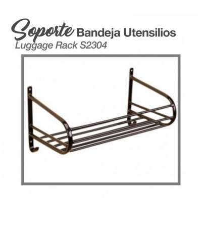 Soporte-Bandeja para Utensilios Stubbs S2304 Negro