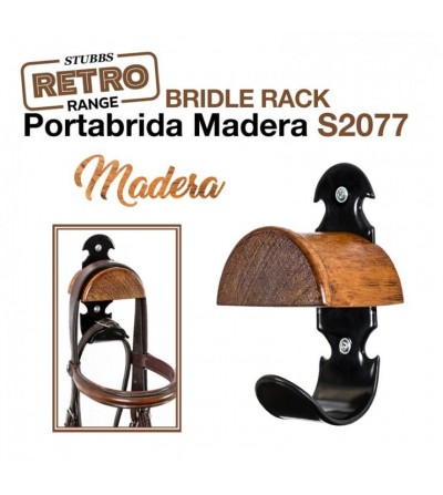 Portabrida de Madera Stubbs Retro Bridle Rack S2077