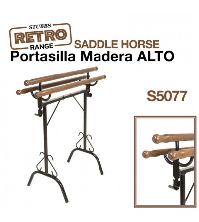 Portasilla de Madera Alto Stubbs Retro S5077