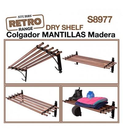 Colgador de Madera para Mantillas Stubbs Retro S8977