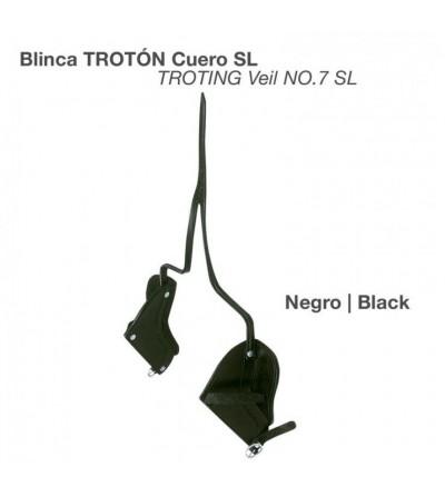Blinca Trotón de Cuero Negro