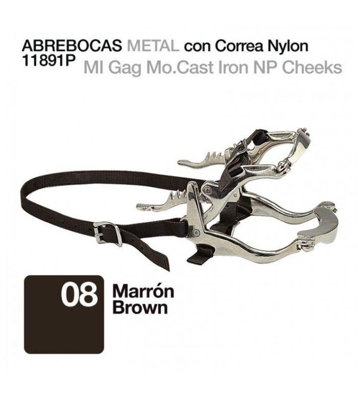 Abre-Bocas de Metal con Correa de Nylon