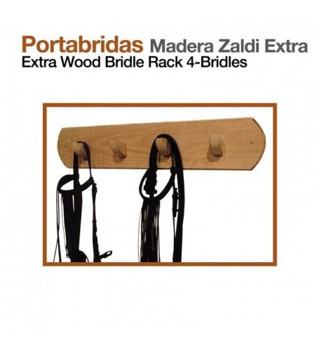 Portabridas Madera Zaldi Extra 4 Cabezadas