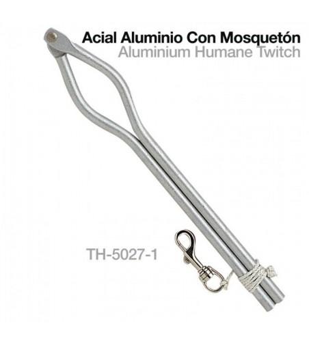 Acial de Aluminio con Mosquetón