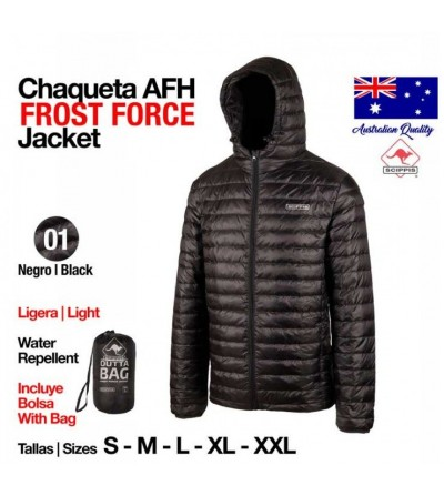 Chaqueta AFH Frost Jacket Negro