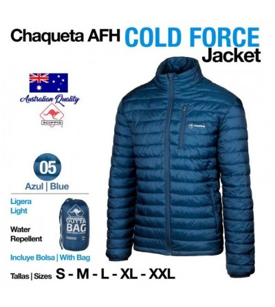 Chaqueta AFH Cold Force Jacket Azul