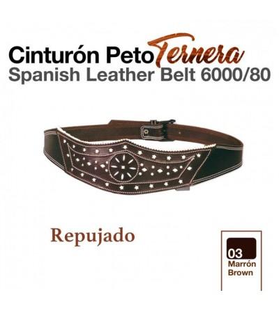 Cinturón Peto Ternera 6000/80 Marrón