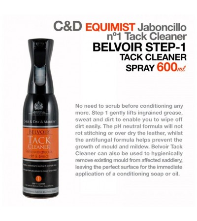 Carr&Day Equimist Jaboncillo Cuero Paso 1 600 ml