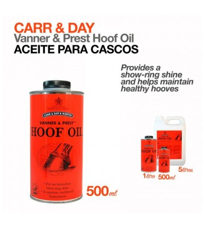Aceite para Cascos Carr&Day Hoof-Oil
