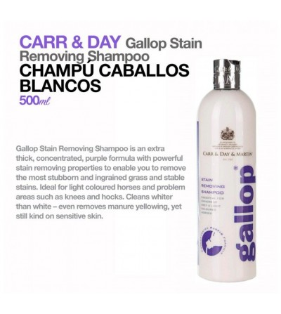 Carr & Day Champu Cab. Blancos Stain Removing 0.5L