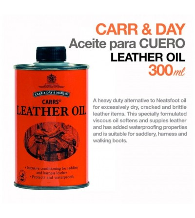 Carr&Day Aceite Intensivo Cuero 300 ml