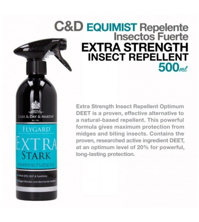 Carr&Day Equimist Repelente Insectos Extra Fuerte 600 ml