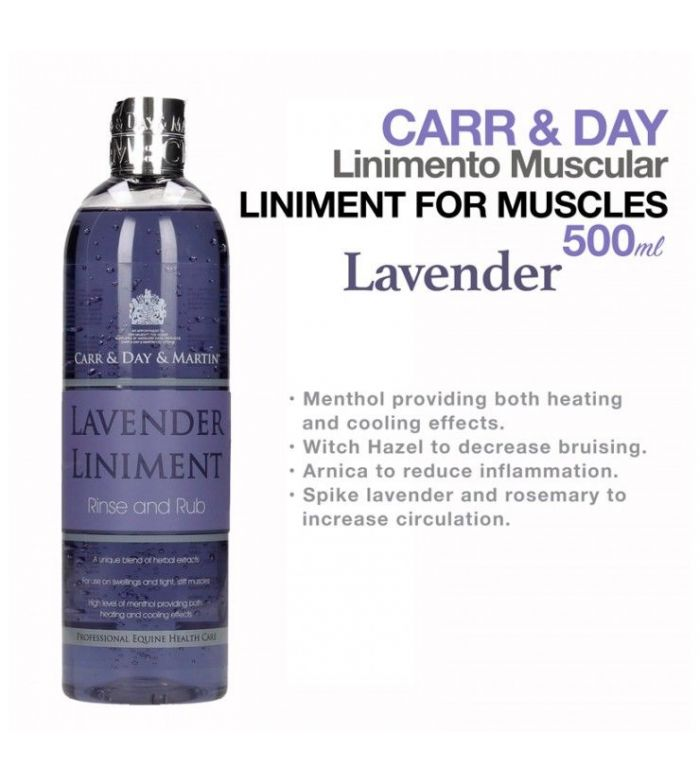 Carr&Day Liniment Antinflamatorio y Relajante Muscular 500 ml