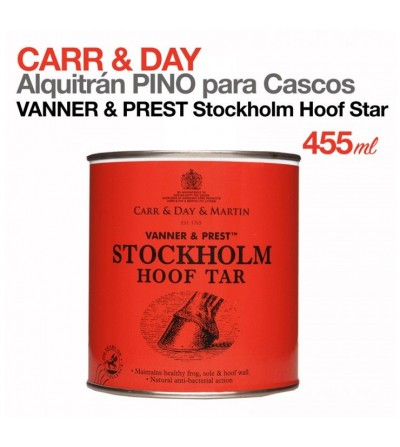 Pomada Alquitrán Pino para Cascos Carr&Day Stockholm 455Ml