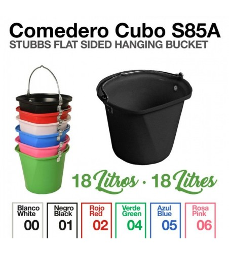 Comedero de Cubo Stubbs S85A 18 Litros