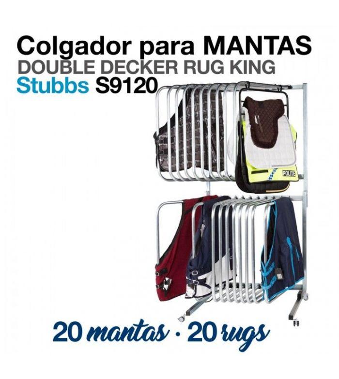 Colgador para 20 Mantas Stubbs S9120