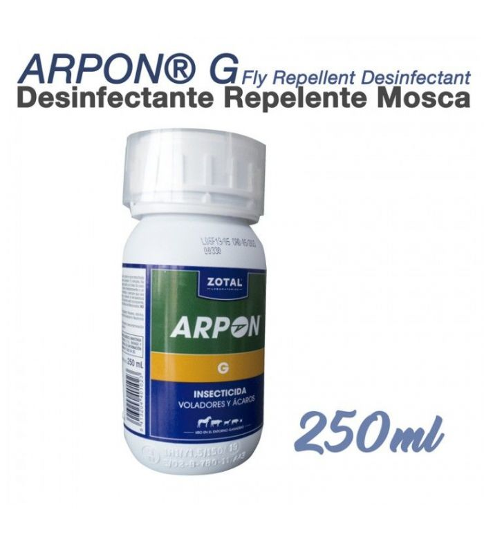 Desinfectante Repelente Moscas Arpon 250 ml
