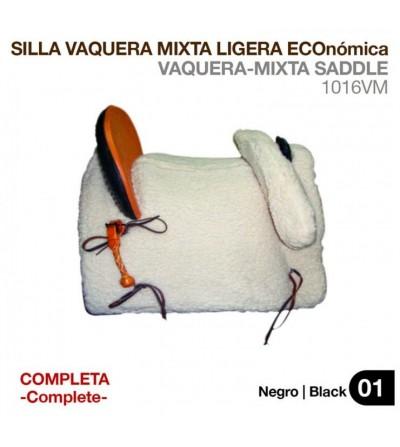 Silla Vaquera Ligera Mixta Completa
