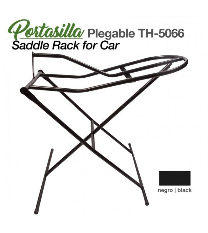 Portasilla Plegable Th-5066 Negro