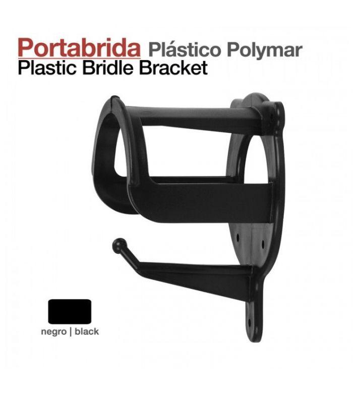 Portabrida Plástico Polymar 36014 Negro