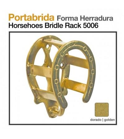 Portabrida Forma Herradura Dorado 5006