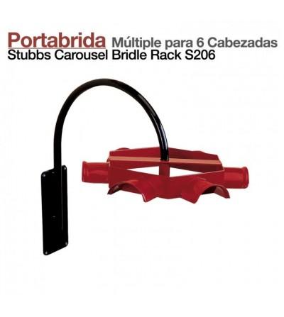 Portabrida Múltiple 6 Cabezadas S206 Stubbs