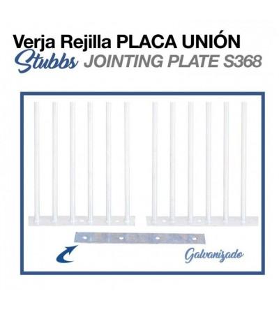 Verja Rejilla Placa Unión Stubbs S368