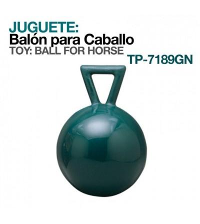 Juguete: Balón para Caballo con Asa