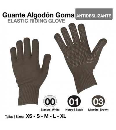 Guante Algodón con Puntos Goma Antideslizante