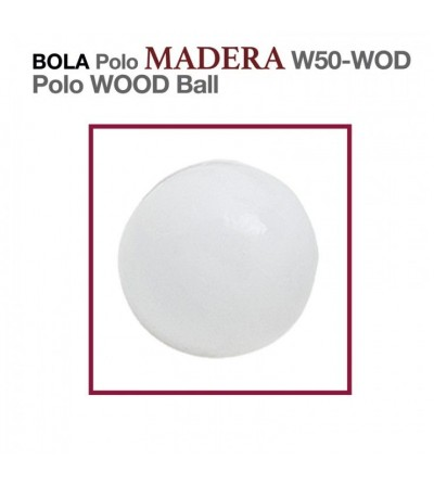 Bola Polo Madera W50-Wod