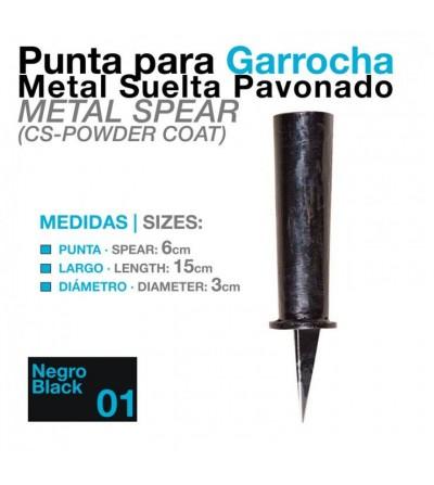 Garrocha Punta-Puya Metal Pavonada