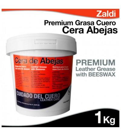 Zaldi Premium Grasa para el Cuero de Cera Abejas 1Kg