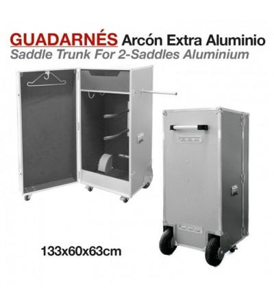Arcón Guadarnés Extra Aluminio 133x60x63