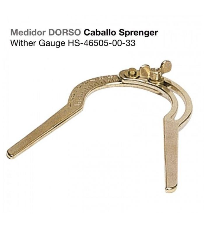 Medidor para el Dorso Caballo Hs-Sprenger