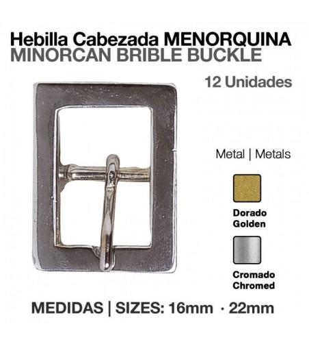 Hebilla para Cabezada Menorquina 16 mm (12 Uds)