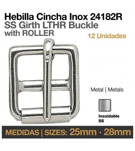 Hebilla Cincha Inoxidable (12Uds)