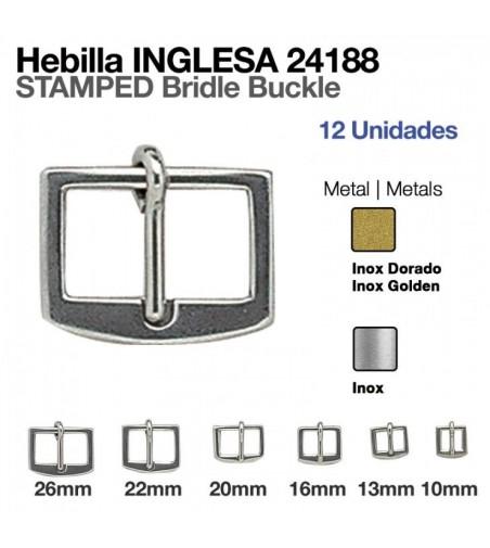 Hebilla Inglesa Inoxidable 24188 (12 Uds)